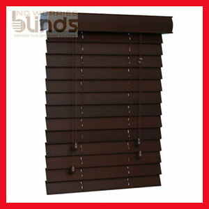Details About Ready Made Timber Venetian Venetians Blinds Blind Wood 6 Colours To Choose From