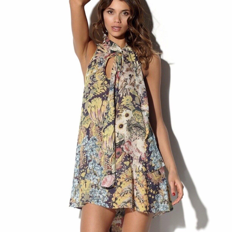 One Teaspoon Floral Bowie Dress Size 8 Medium