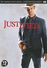 DVD - JUSTIFIED  SEASON  1 / SAISON  1  (NEW SEALED)