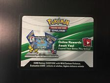 Pokemon TCG Hoenn Power BLAZIKEN Tin Theme Deck Online CODE CARD - Email