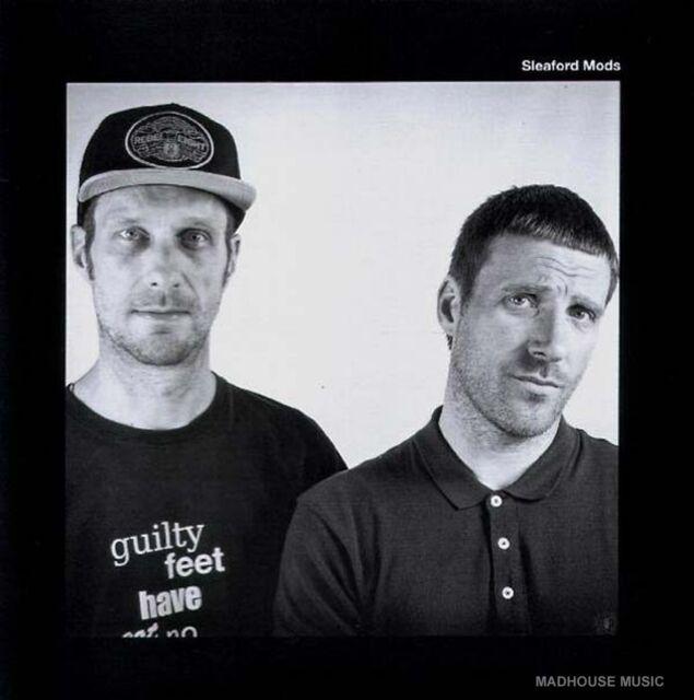 "SLEAFORD MODS 7"" You're Brave / SUDDEN IMPACT Limited Vinyl split single 2015"