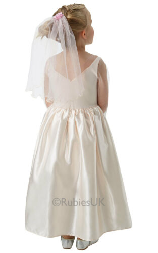 Fancy Dress ~ Disney Cinderella Live Action Wedding Dress Ages 3-8 Years