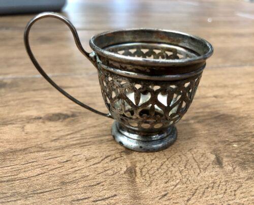 """Vintage Gorham Sterling Silver Cup Holder Insert 1 3//4/"""""""
