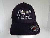 Hissander Flores Y Los Dos Jovenes L/xl Black Baseball Cap Hat