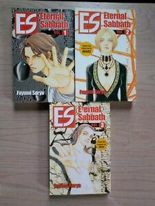 Es-Eternal-Sabbath-1-3-Lot-of-3-Seinen-Manga-English-16-Fuyumi-Soryo
