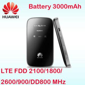 Details about HUAWEI E589 WLAN 4G LTE 3G Mobile WiFi Wireless Hotspot Modem  Router