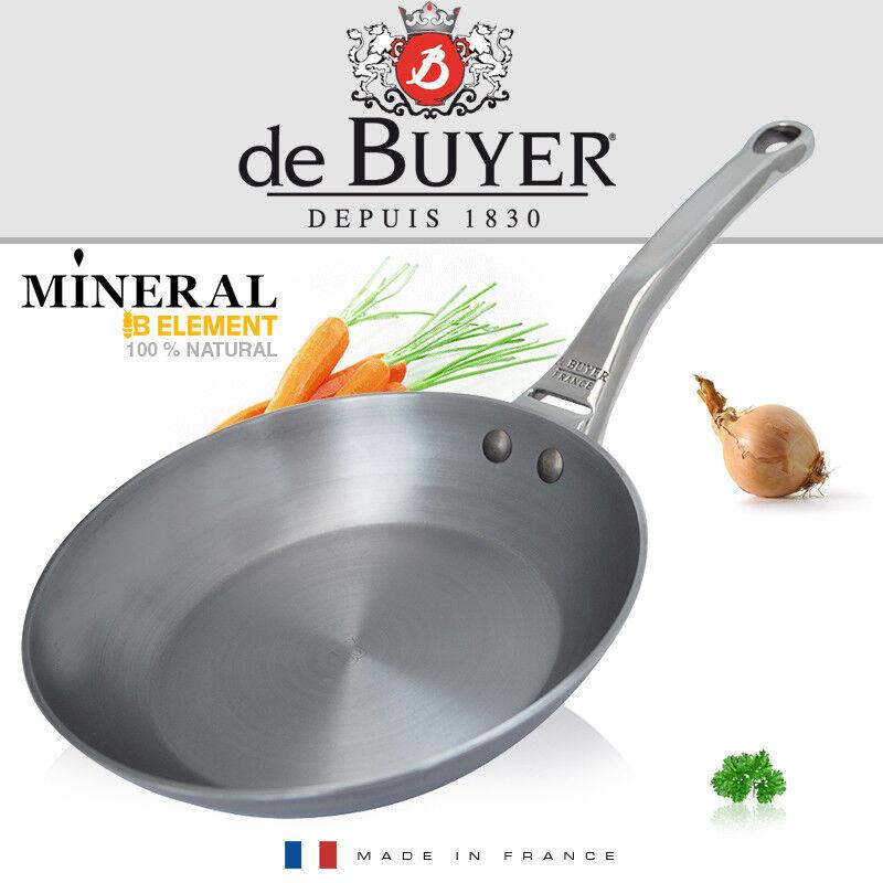 De Buyer-Minérale B élément par Round Fer Poêle 28 cm