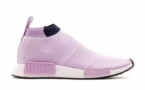 f19f3ca7f WOMEN S ADIDAS ORIGINALS NMD CS1 PRIMEKNIT B37658 CLEAR LILAC LEGEND ...