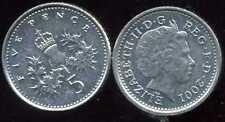 ROYAUME UNI   five   5  pence 2001   ( bis )