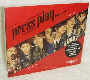 Details about BTOB Mini Album Vol  2 Press Play Taiwan Ltd CD+DVD