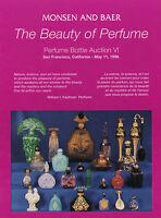 Monsen & Baer Perfume Bottle Catalog 6 - The Beauty Of Perfume