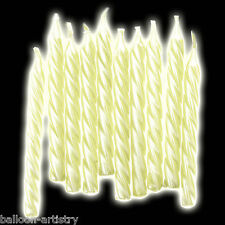 10 Glow In The Dark Spiral Halloween Birthday Party Cake Candles