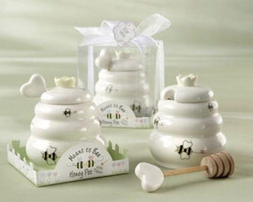 96 censée Abeille Céramique Honey Pot Casserole Mariage faveurs