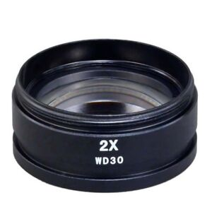 New-2x-Auxiliary-Objective-Lens-for-Stereo-Microscope-Mounting-Size-D48mm