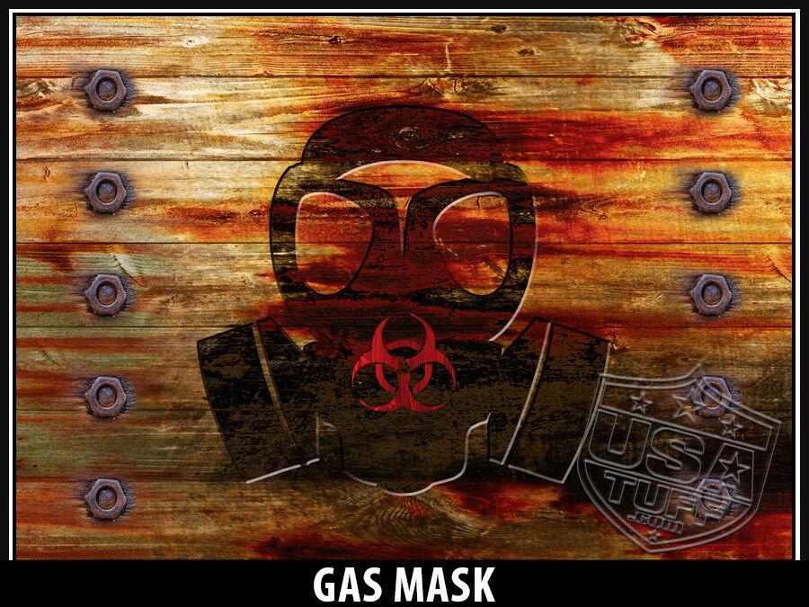 USATuff Cooler Decal Wrap fits YETI Tundra 35qt FULL Gas Mask Mask Gas WD 44ba6a