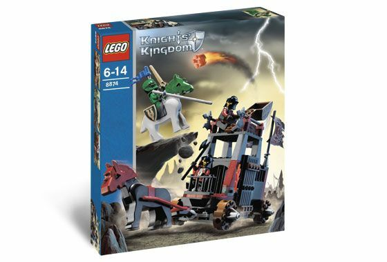 Lego Castle Knight's Kingdom ll 8874 Battle Wagon New SEALED Ships World Wide