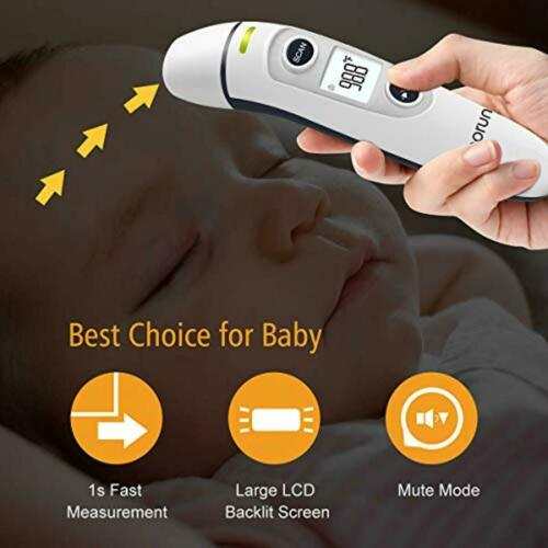Digital Infrared 【New Version】Vigorun Medical Forehead and Ear Thermometer