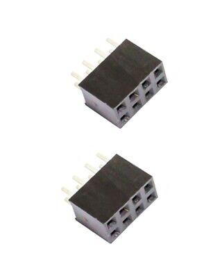 0049 Buchsenleiste 2x3 6Pin zweireihig Arduino Raspberry Pi 2 Stück