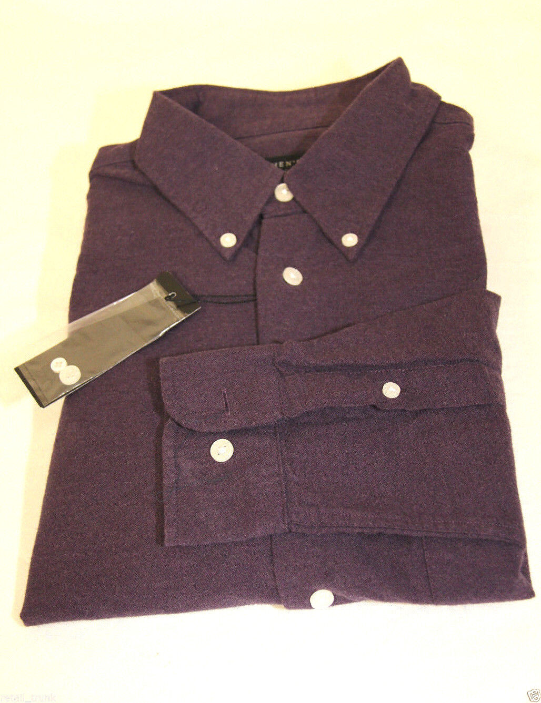 The Men's Store Bloomingdale's Flannel Shirt, Plum