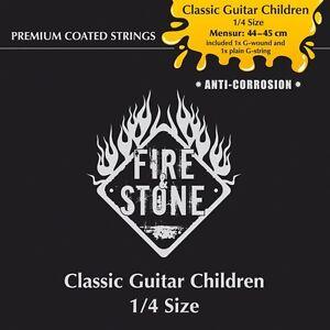 Fire-amp-Stone-cordes-pour-classique-guitare-classic-guitare-I-D-taille-1-4-1
