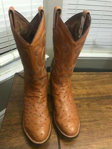Tony Lama Ostrich Boots