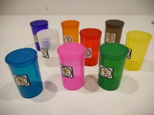Pop Tubs 13 19 Dram Squeeze Pot Cap Vial Medical Snap Jar Bulk Wholesale