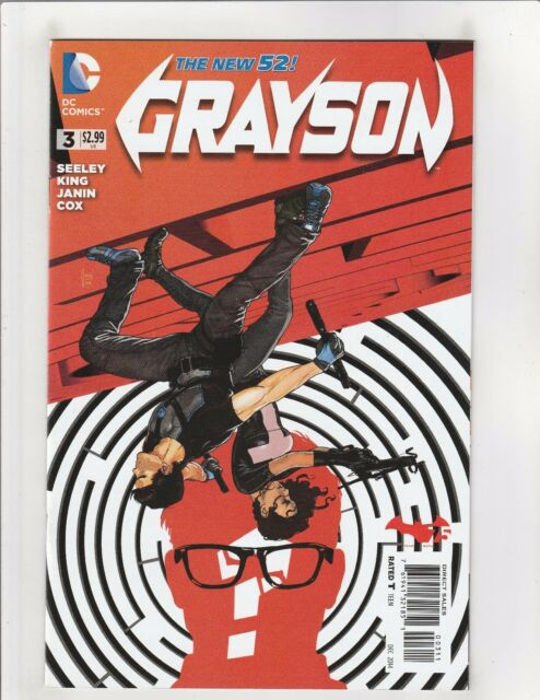 Grayson 1 Jock Variant Cover Batman 75th Anniversary Nightwing Dc