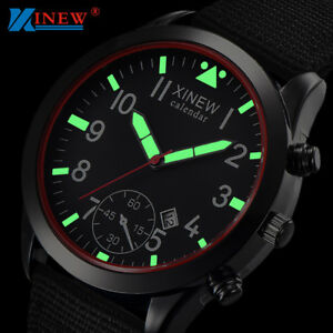 Mens-Military-Quartz-Army-Watch-Date-Nylon-Strap-Analog-Dial-Sports-Wrist-Watch