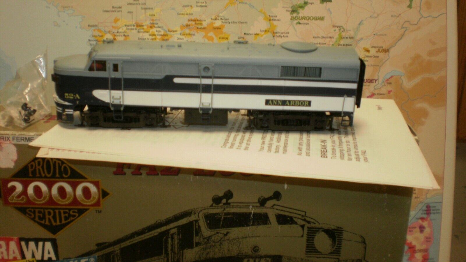 Loco diesel FA2 Alco Ann Arbor 52A USA Projoo 2000 édition limitée