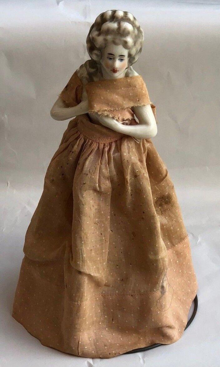 Alemán Vintage Muñeca De Porcelana