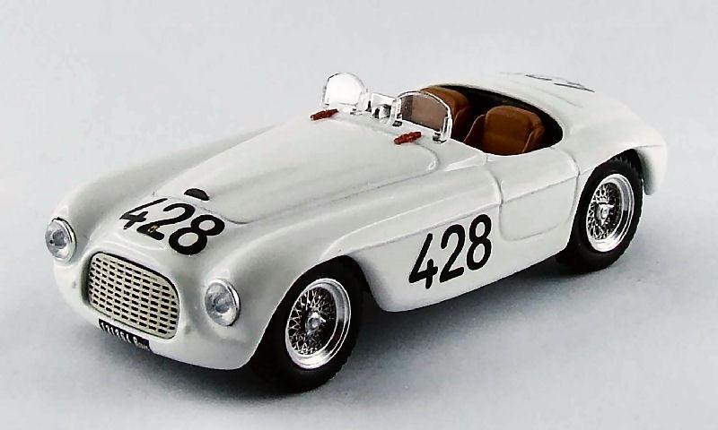 Ferrari 166 MM  428 9th Targa Florio 1950 Musso   Gaboardi 1 43 Model 0280