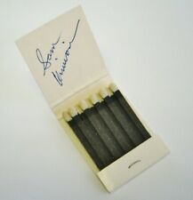 "SAM KINISON, Original Signed Autographed MATCHBOOK FROM ""THE RITZ-CARLTON""."