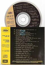 CAPITOL CANADA juin 1991 compilation CD PROMO roxette pretenders vanilla ice
