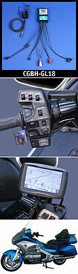 J&M Bluetooth Cell/Smart-Phone/Radar-beep Terminal for Honda GL-1800/F6B