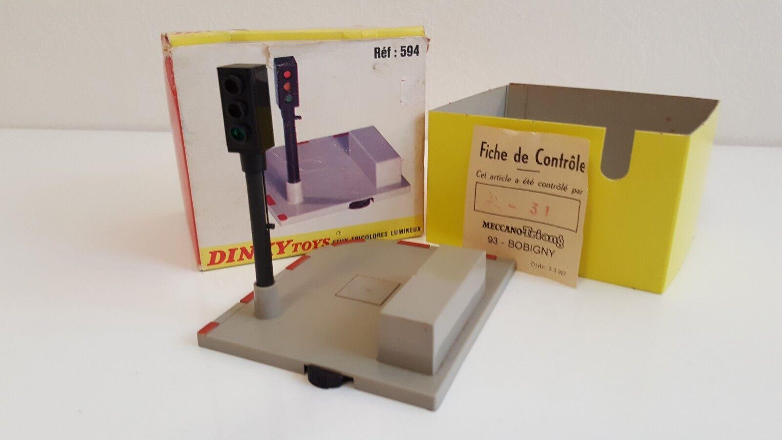 Dinky Toys - 594 - Feux Tricolors lumineux en boîte d'origine