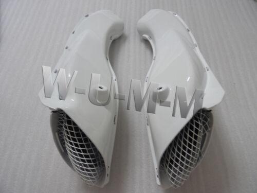 A pair RAM AIR Intake Ducts For SUZUKI GSXR GSX-R 600 750 2004-2005 GSX-R 04 05