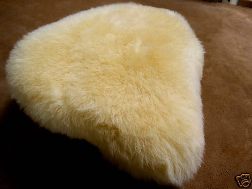 Lambskin Premium Quality Saddle Cover Bicycle Seat Cover