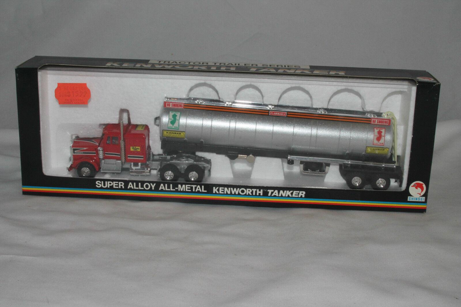Shinsei Japón Mini Power Kenworth Union 76 Petróleo Cisterna Semi , Menta