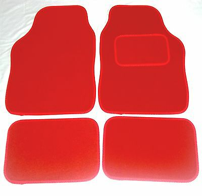 Red Car Mats For MG TF ZR ZS ZT MGB