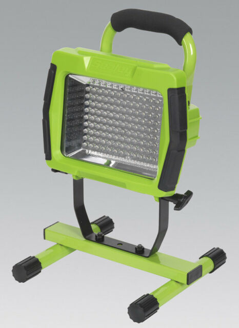 Sealey Floodlight Portable Rechargeable 108 LED Lithium-ion - Green - LED108C