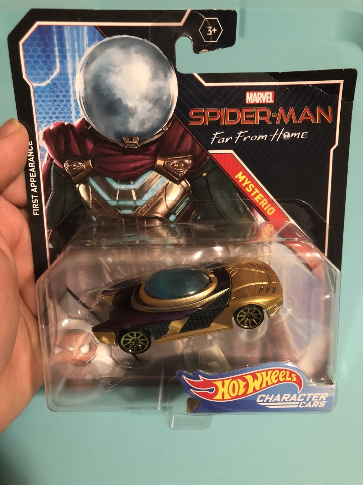 1:64 scale Diecast Vehicle 2014 Hot Wheels Marvel Character Cars Venom