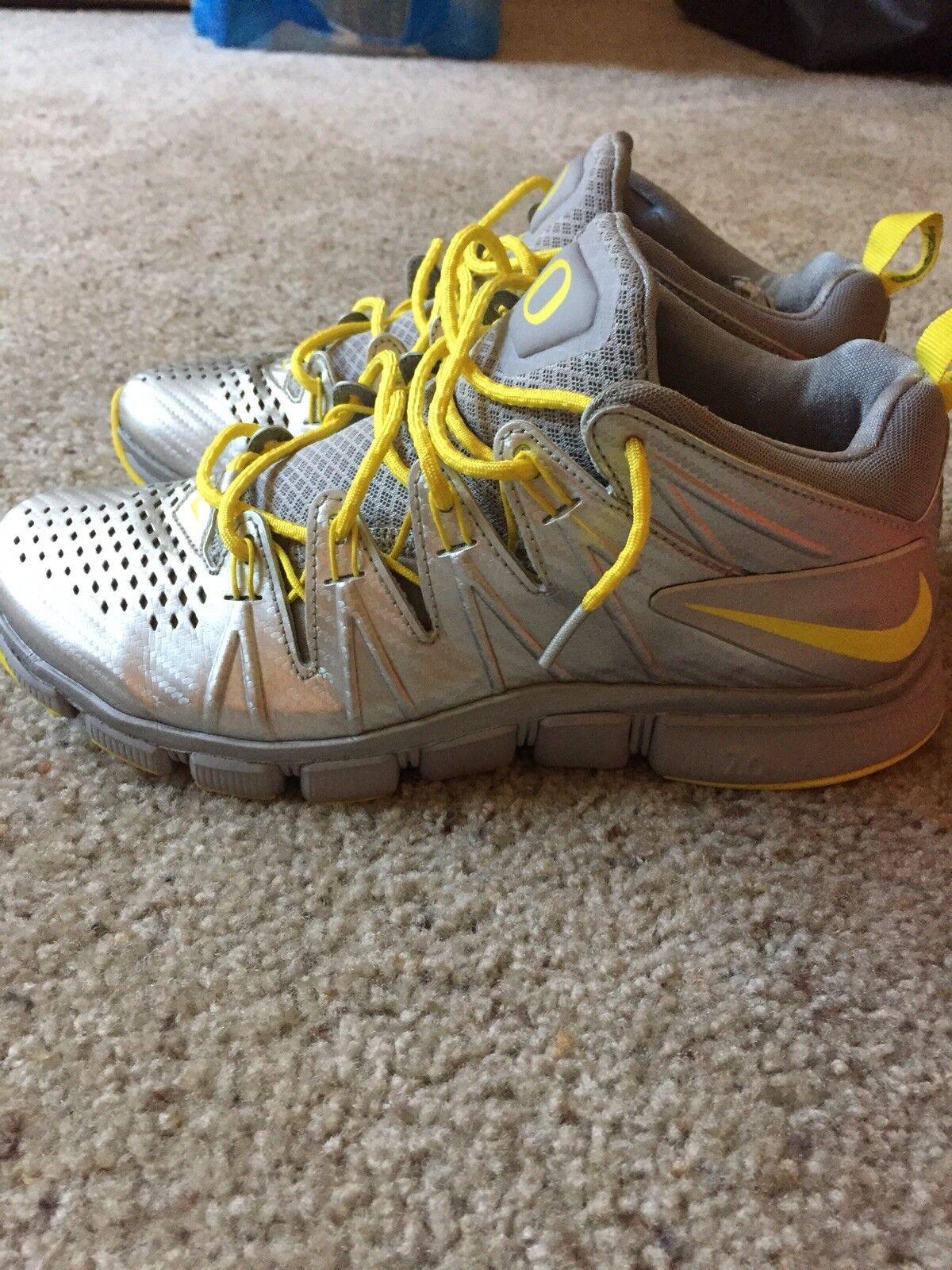 Nike Oregon Free Free Free 7.0 Size 8 Team Issued PE 03c566