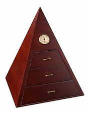 ADORINI PISA DELUXE Superior Quality PYRAMID  HUMIDOR - fits up to 75 Cigars