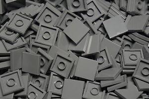 LEGO-50-x-LIGHT-GREY-FLAT-TILES-BRICKS-2-x-2-No-3068-CITY-STAR-WARS-MOVIE