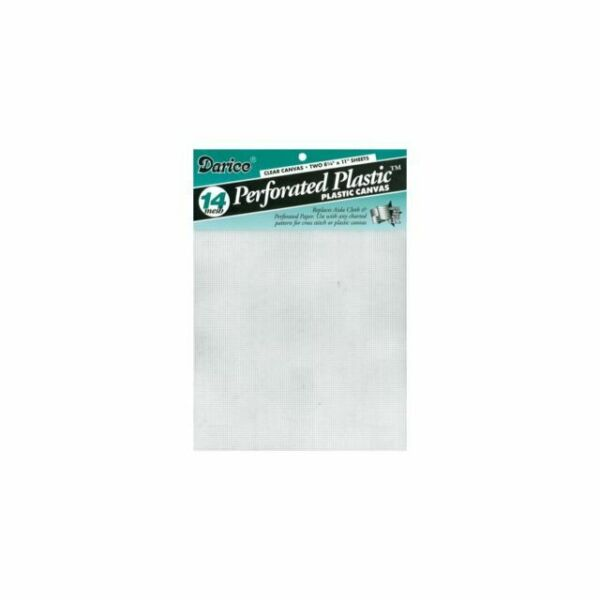 Perforated Plastic Darice Plastic Canvas Sheets lot #5 14 Count Your Choice of Colors 8.25 by 11 inch