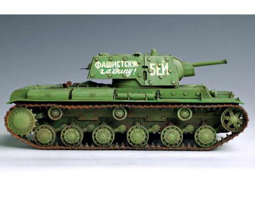 Trumpeter 9360357 Russischer Panzer KW-1/'s Ehkranami 1:35 Fahrzeug Modellbausatz