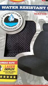 Image Is Loading GENUINE Dickies Car Seat Covers 2 Pk Black