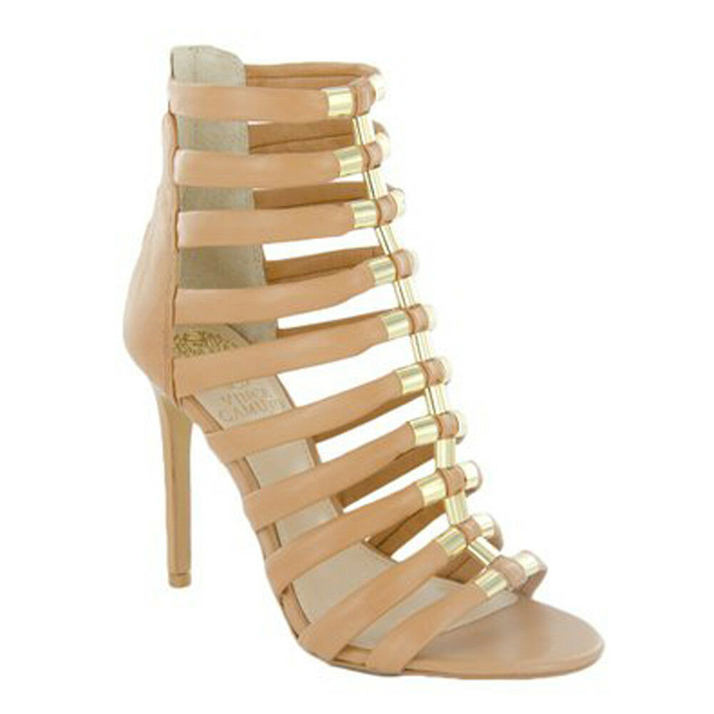 Vince Camuto Womens TROY Gladiator Bootie NUDE,11