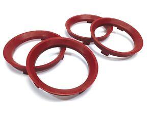 Details about 72 6 - 57 1 Spigot Rings, Set of 4, Hub Rings, TUV Approved,  VW AUDI SEAT SKODA