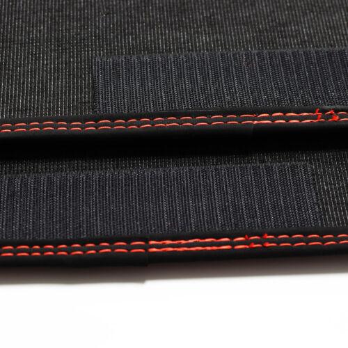 Fußmatten Doppelnaht rot für Porsche 911 997 Bose Bj.2004-2012 von Mattenprofis